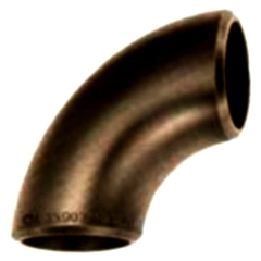 Elbows 90 ° welded steel galvanized